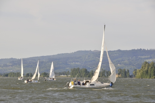 Pre-start action from race 1